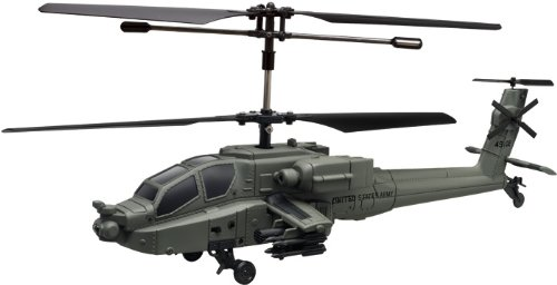 Rc Apache Helicopter Military (U.s. Army Specification)