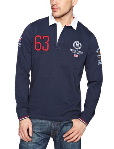Henri Lloyd GB RWR Rugby Men's Jumper French Navy Small