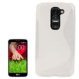 S Line Anti-skid Frosted TPU Case for LG G2 mini (Transparent)