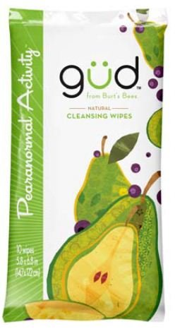 Gud From Burt'S Bees - Natural Cleansing Wipes Pearanormal Activity - 10 Wipes front-960855