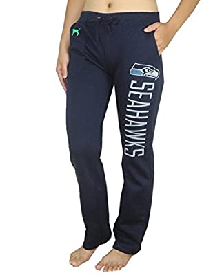 Womens Pink Victoria's Secret NFL Seattle Seahawks Pajama Pants