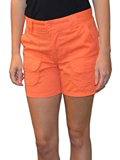 Sabree Missy Cargo Short Apricot-14