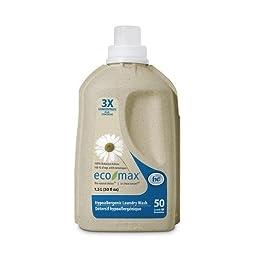 Eco-Max BPC1059917 Hypoallergenic Wash 50 Loads, 4 x 101 Oz.