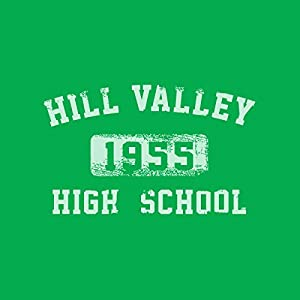 Hill Valley High School 1955 Back to The Future, Women's T-Shirt