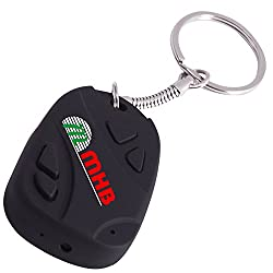 M MHB Best Quality Keychain Camera Hidden Audio /Video Recording Support 32GB memory Original Brand Sold by 'M MHB' ONLY