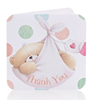 8 Forever Friends™ Baby Thank You Cards