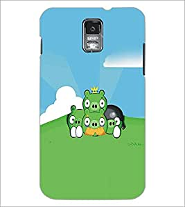 SAMSUNG GALAXY S4 MINI CARTOON CHARACTER Designer Back Cover Case By PRINTSWAG