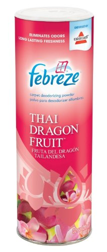 Febreze Thai Dragon Fruit Deodorizing Powder Endorsed By Bissell, 32 Ounces(Pack Of 4) front-285881