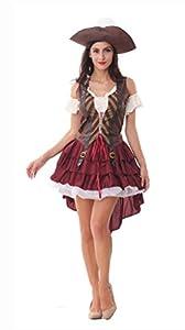 Sexy Swashbuckler Costume Halloween Costumes Pirate Women Adult Games Erotic Dress