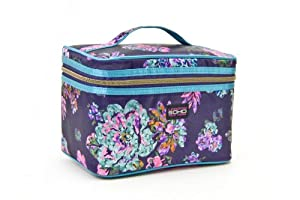 SOHO Glowing Wild Train Case Cosmetic Bag