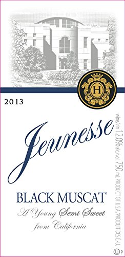 2013 Jeunesse California Black Muscat 750 Ml