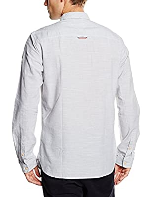 Hilfiger Denim Men's Neps Stripe L/S 1 Leisure Shirt