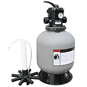 24 Above Ground Top Mount Swimming Pool Sand Filter Replaces S244t Patio Lawn