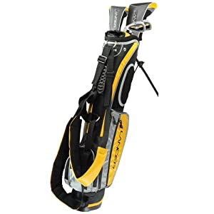 Intech Lancer Junior Golf Club Set (Yellow) by Intech