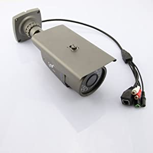 HD 2MP Outdoor H.264 CMOS Night Vision Security ONVIF Ip camera with IR-cut