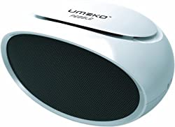 UMEKO SKU006 Pebble 2 Portable Multimedia Speaker,USB / TF, FM radio player (White)