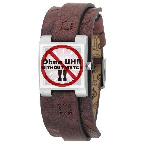 Fossil JR9515 Lederband - Correa para reloj unisex