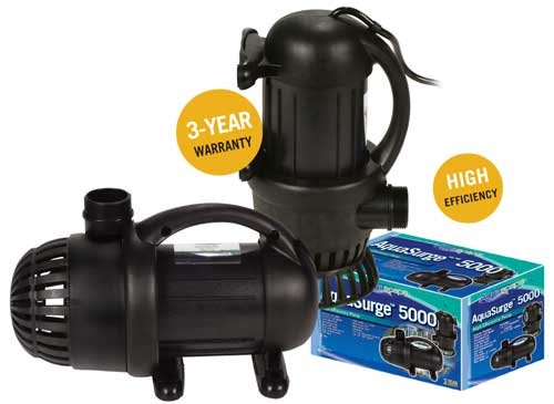 Buy Price Aquascape 99547 Aquasurge 4000 Pond Pump Coupon Y07589c