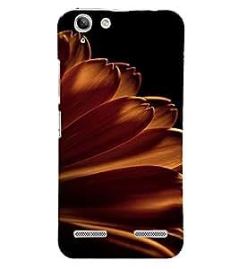 PrintVisa Flower Petal Design 3D Hard Polycarbonate Designer Back Case Cover for Lenovo Vibe K5 Plus
