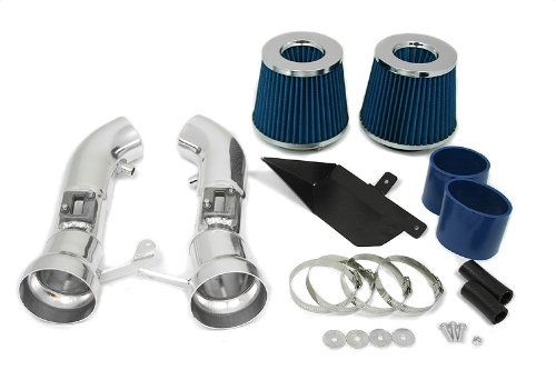 09 10 11 12 Nissan 370Z Heat Shield Intake Blue (Included Air Filter) #Hi-NS-1B (Nissan 350z Nismo Intake compare prices)