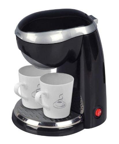 Efbe Schott zwei-Tassen-Kaffee-maschine schwarz TKG CM
