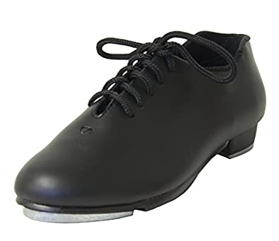 oxford value black tap shoe in child youth