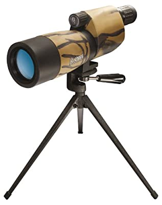 Bushnell Sentry 18-36 x 50mm Porro Prism Waterproof/Fogproof Spotting Scope with Tabletop Tripod, Camouflage by Bushnell
