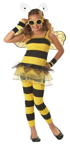 Trendy Girls Honey Bee - Bumblebee Costume with Bracelet for MOM
