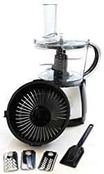 Charles Jacobs NEW 2015 MODEL 2.5 Litre Powerful Food Processor with 10 Speeds Plus Pulse in Black NOW COMES WITH 2 YEARS NATIONAL WARRANTY