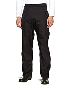 Marmot Herren Hose Precip Full Zip Pants, Black, S, 50260-001-3