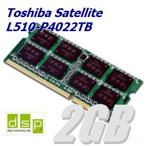 2GB Speicher / RAM für Toshiba Satellite L510-P4022TB