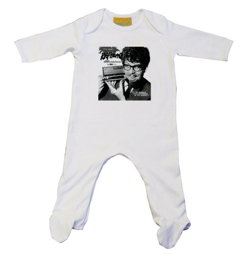 Sale alerts for Vintage Magazine Company Rolf Harris Stylophone Vintage Advert Baby Grow White (0-3, White) - Covvet