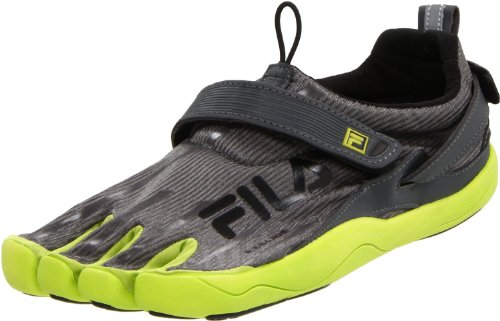 Fila Men's Skele-Toes 2.0 Shoe,Castlerock/Lime Punch/Black,11 M US