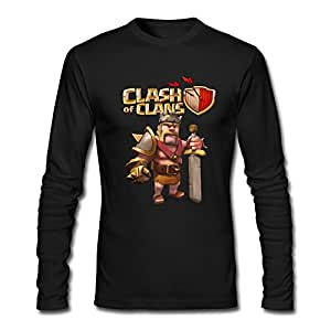 Amazon.com : JaHa Men's Clash Of Clans Games Barbarian King Long