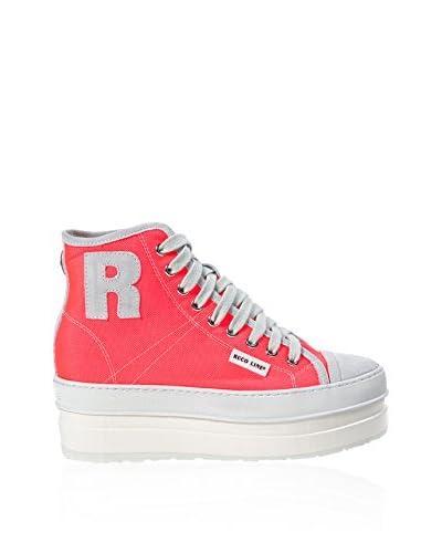 Ruco Line Sneaker Alta [Corallo]