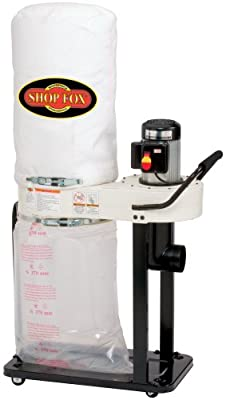 SHOP FOX W1727 1 HP Dust Collector