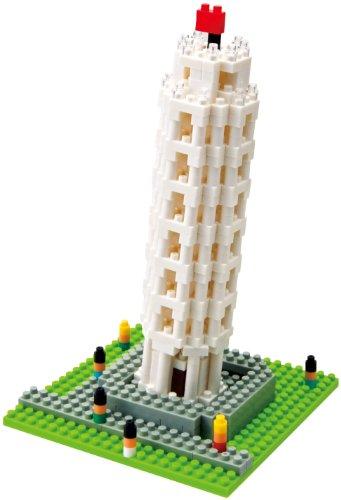 Kawada NBH-030 Nanoblock The Leaning Tower of Pisa Building Kit