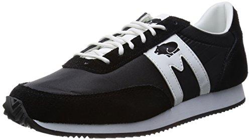 KARHU Albatross sneakers running PELLE TESSUTO BLACK WHITE F802519 42,5