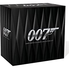 James Bond Ultimate Collector's 21 bond movies Set for 110$