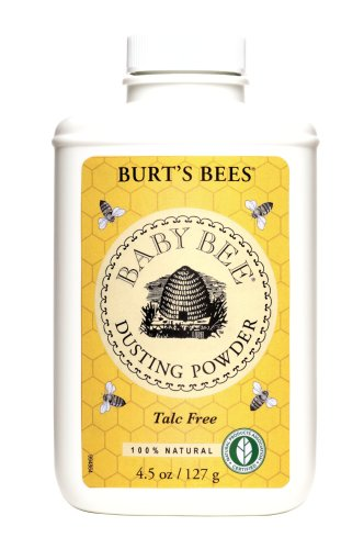 Burt's Bees Baby Bee Dusting Powder Talc Free, 4.5-Ounce (Pack of 3)