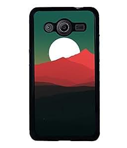 printtech Sunset Sky Sand Dunes Back Case Cover for Samsung Galaxy Core i8262::Samsung Galaxy Core i8260
