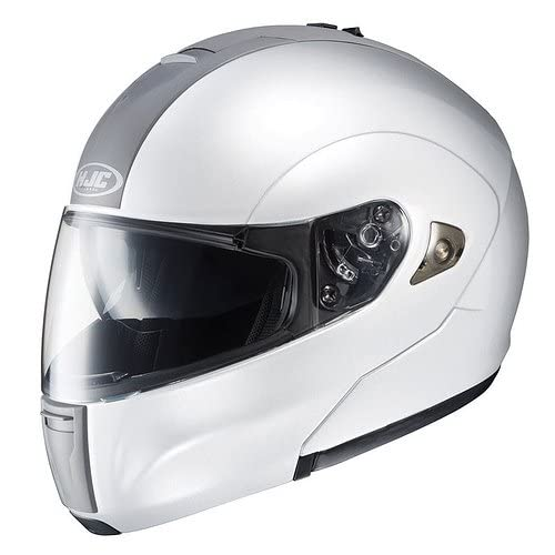 HJC SOLID IS MAX FULL FACE MOTORCYCLE HELMET (LARGE, WHITE)