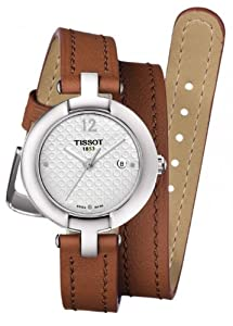 Lady's Watch - Tissot - Pinky - Sapphire Crystal - Leather Band - T0842101601704