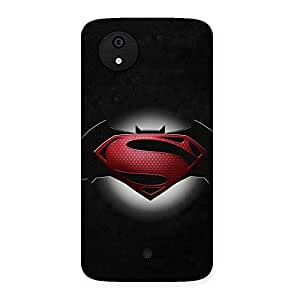 Knight Vs Day Back Case Cover for Micromax Canvas A1