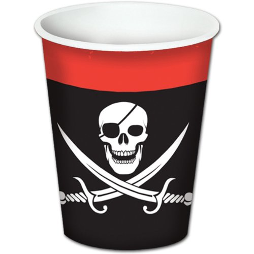 Pirate Paper Cups 8ct