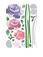 Ambiance-sticker Vinilo Decorativo Rose flowers