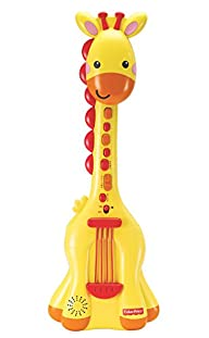Fisher Price Giraffe Guitar Music Set