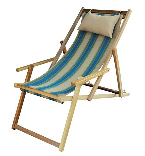 Hangit Easy Patio chair furniture with Arm rest & Pillow set