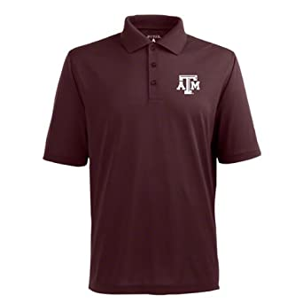 Amazon.com: NCAA Texas A&M Aggies Pique Xtra Lite Desert Dry Polo Men ...