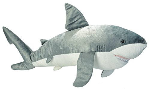 Wild Republic Cuddlekins Jumbo Great White Shark Plush (Giant Plush Shark compare prices)